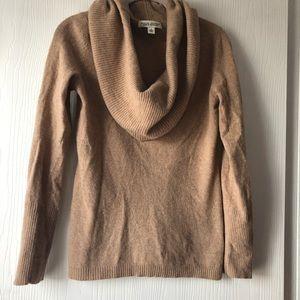 Cashmere + Italian Wool Cowl Neck Sweater